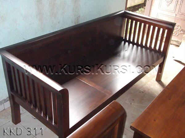 Bangku Kayu Jati Jepara KKD 311