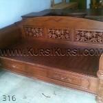 Bangku Madura Kayu Jati KKD 316