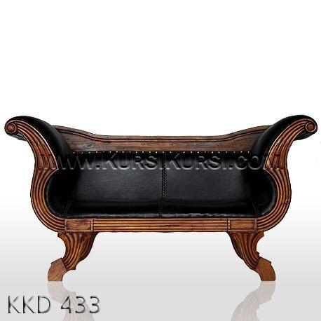 Bangku Sofa Asli Jepara KKD 433