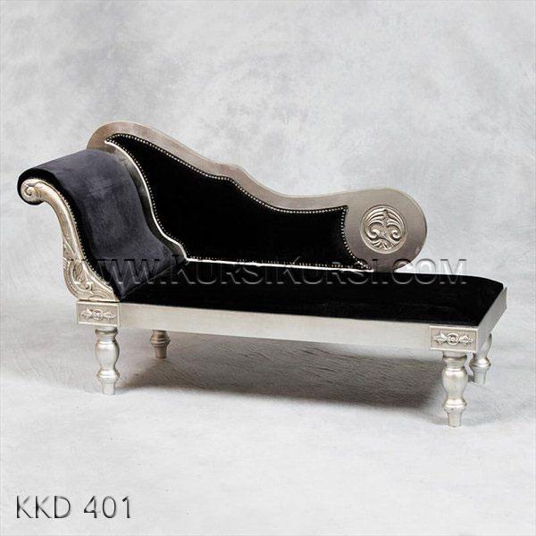 Bangku Sofa Black Style KKD 401