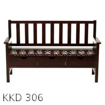 Kursi Bangku Kayu KKD 306