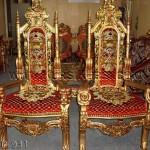 Kursi Raja Dan Bunga KKD 931