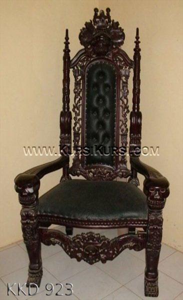 Kursi Raja Ukir Tengkorak KKD 923