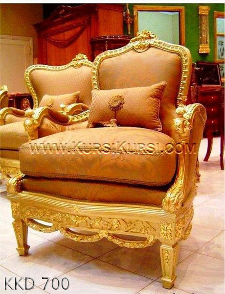Kursi Sofa Finishing Emas KKD 700