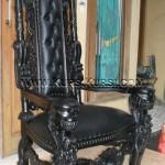 Model Kursi Raja Ukir Kepala KKD 925