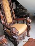 Model Kursi Raja Ukir Singa KKD 909