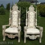 Set Kursi Raja Duco Putih KKD 916