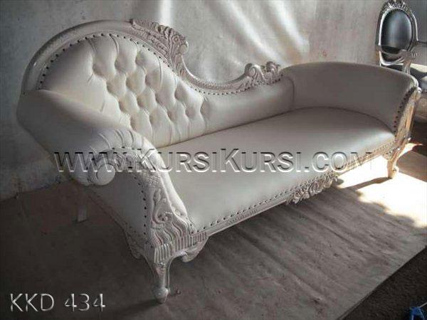 Sofa Duco Putih Jepara KKD 434
