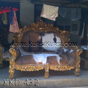 Sofa Kulit Asli Jepara KKD 432