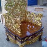 Ukiran Kursi Naga Relief KKD 914