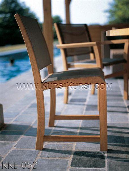 Kursi Outdoor Jati KKL-052