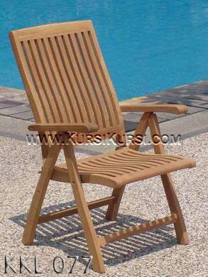 Solid Wood Kursi Garden Minimalis KKL-077