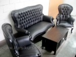 Black Tail Set Kursi Tamu Sofa Modern Kode ( KKS 485 )