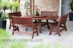 Elegant Furniture Kayu Set Kursi Tamu Jati Kode ( KKS 495 )