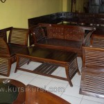 Furniture Dowel Jati Set Kursi Tamu Minimalis