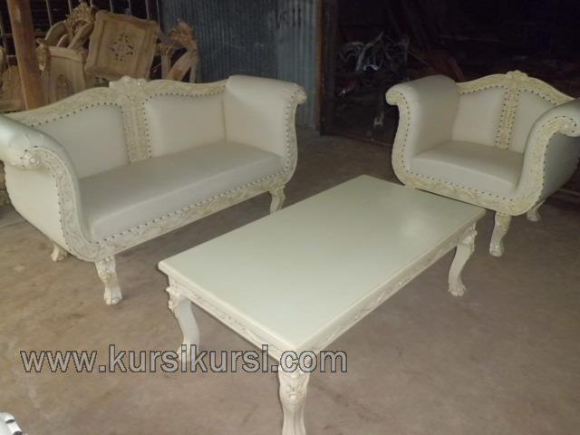 Furniture Duco Jepara Set Kursi Tamu Ukir Modern