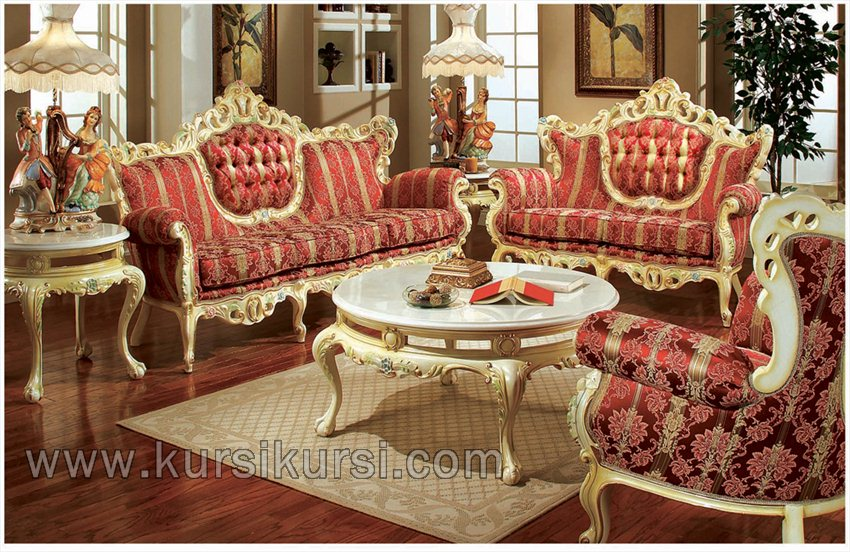 Furniture Duco Pasir Set Sofa Tamu Ukir Jepara
