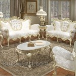 Furniture Duco Putih Sofa Ukir Set