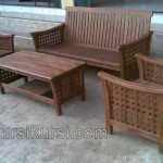 Furniture Jati Set Kursi Tamu Jepara
