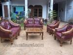 Furniture Jepara Set Sofa Tamu Ukir Kayu Jati Kode ( KKS 504 )