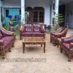 Furniture Jepara Set Sofa Tamu Ukir Kayu Jati