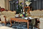 Furniture Mewah Set Sofa Finishing Emas Kode ( KKS 507 )