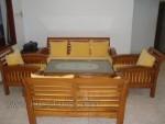 Furniture Minimalis Jati Set Kursi Tamu Jok Busa Kode ( KKS 509 )