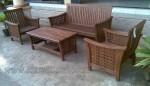 Furniture Minimalis Jati Set Kursi Tamu Ketupat Ukir Jepara Kode ( KKS 510 )