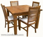 Furniture Minimalis Set Kursi Meja Makan Mebel Jepara Kode ( KKS 126 )