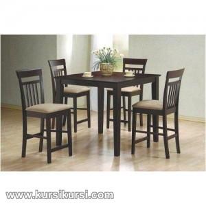 Furniture Minimalis Set Kursi Meja Makan Minimalis