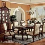 Furniture Ruang Makan Set Kursi Meja Makan 8 Kursi