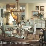 Furniture Ruang Makan Set Kursi Meja Makan Duco Putih Jepara