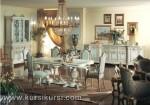Furniture Ruang Makan Set Kursi Meja Makan Duco Putih Jepara Kode ( KKS 129 )