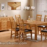 Furniture Set Kursi Meja Makan Minimalis Jepara