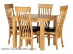 Gambar Furniture Kayu Jati Set Model Kursi Makan Jepara Kode ( KKS 482 )