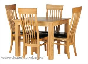 Gambar Furniture Kayu Jati Set Model Kursi Makan Jepara
