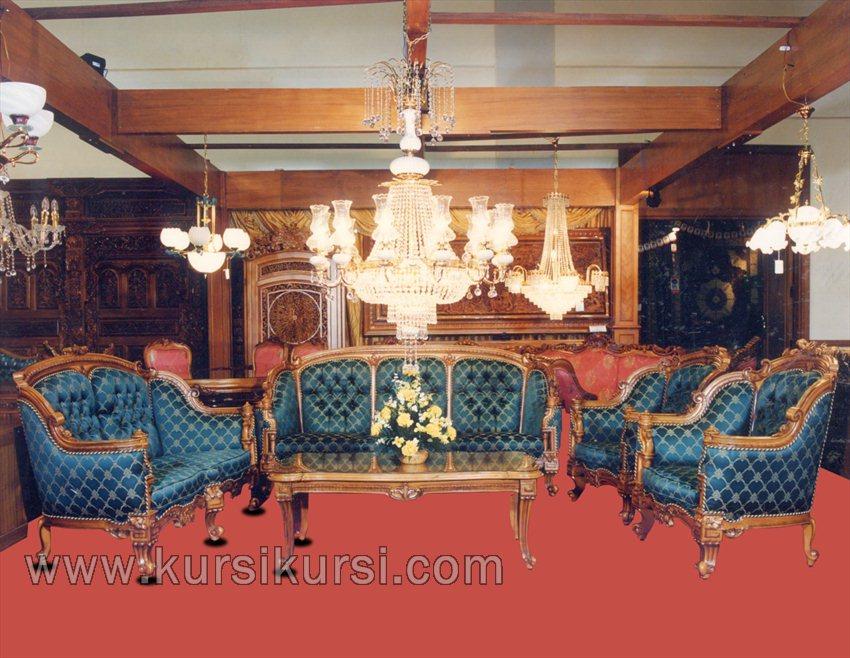 Gambar Pilihan Set Kursi Tamu Sofa Jepara