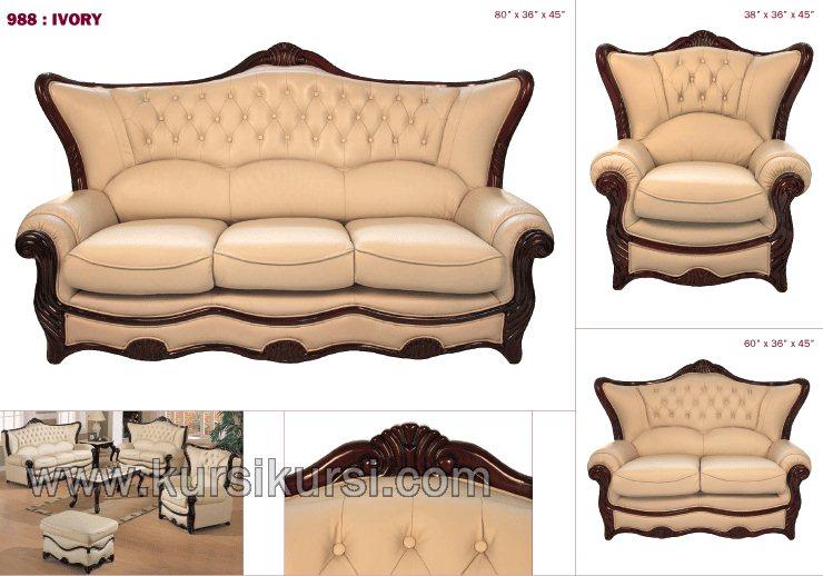 Gambaran Set Kursi Tamu Sofa Jepara