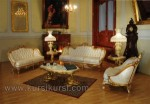 Harga Set Sofa Kursi Tamu Mewah Finishing Emas Kode ( KKS 521 )