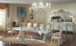 Italian Furniture Kursi Set Meja Makan Duco Jepara ( KKS 137 )