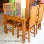 Jepara Furniture Set Kursi Makan Kayu Jati