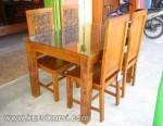 Jepara Furniture Set Kursi Makan Kayu Jati ( KKS 140 )