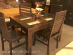 Model Mebel Modern Set Kursi Meja Makan Minimalis Kode ( KKS 220 )