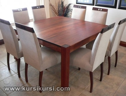 Model Minimalis FUrniture Set Kursi Meja Makan Minimalis