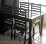 Model Set Kursi Meja Makan Minimalis Jepara Kode ( KKS 225 )
