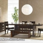 Ruang Makan Set Kursi Meja Makan Minimalis Kayu Jepara