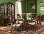 Set Kursi Makan Antik Furniture Jepara Kode ( KKS 247 )