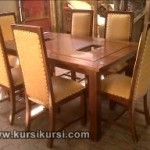 Set Kursi Makan Busa 6 Kursi Furniture Kayu