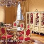 Set Kursi Makan Model Keluar Besar Furniture Kayu