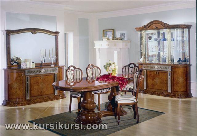 Set Kursi Makan Terbaru dan Klasik Modern